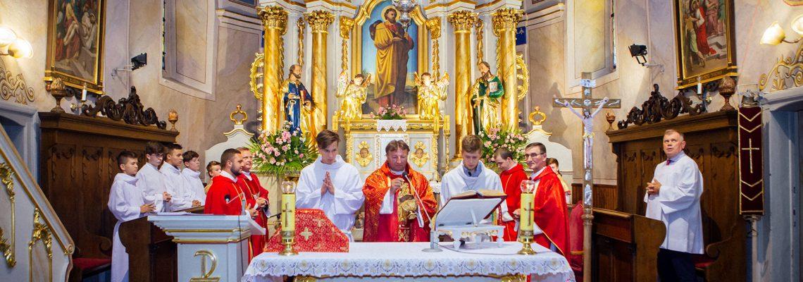 Odpust parafialny ku czci św. Jakuba.