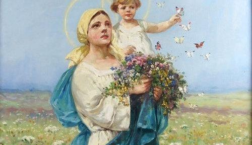 Poświęcenie ziół i kwiatów – Święto Matki Boskiej Zielnej.