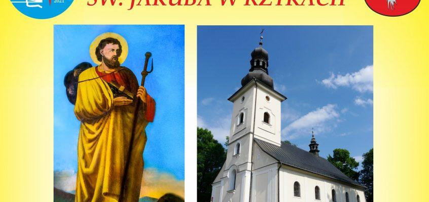 Trasy pielgrzymich pieszych szlaków do naszej parafii